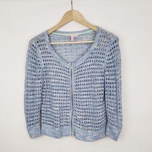 VICTORIA SECRET Womens Blue Sweater Top Medium